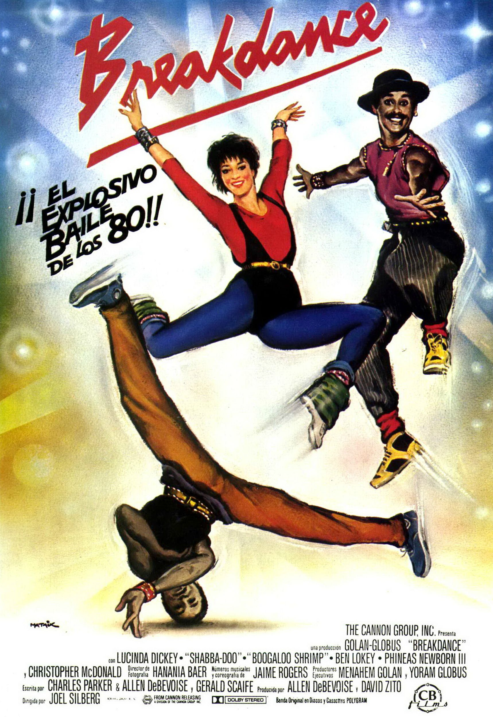 Breakdance movie 1984